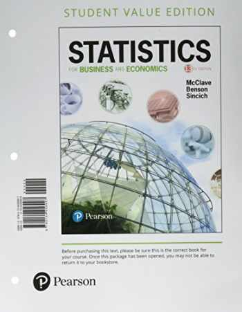 Sell, Buy or Rent Statistics for Business and Economics