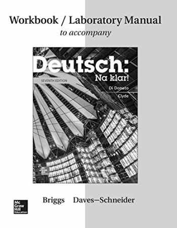 Sell, Buy or Rent Workbook/Lab Manual for Deutsch: Na klar