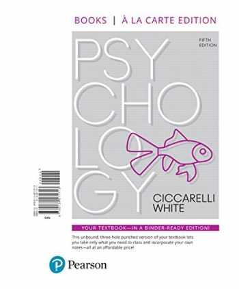 9780134571713-0134571711-Psychology -- Books a la Carte (5th Edition)