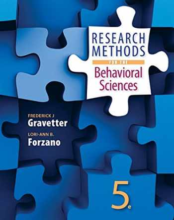 9781305104136-1305104137-Research Methods for the Behavioral Sciences