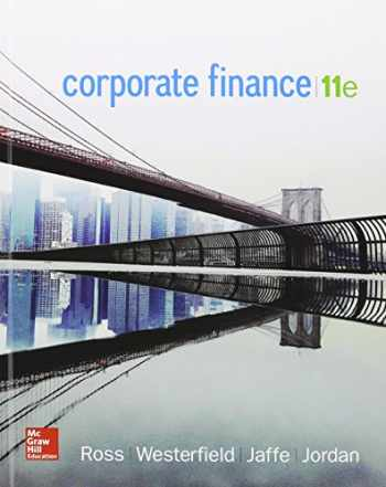 9781259621789-1259621782-Corporate Finance with Connect 1 Semester Access Card