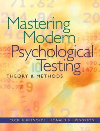 9780205483501-020548350X-Mastering Modern Psychological Testing: Theory & Methods