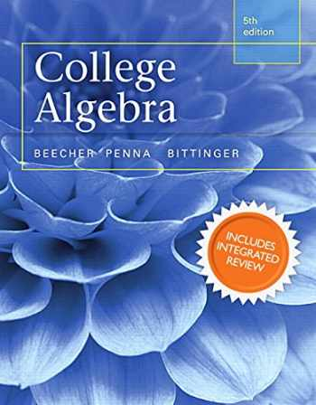 9780321969583-0321969588-College Algebra with Integrated Review and Worksheets plus NEW MyMathLab with Pearson eText-- Access Card Package (5th Edition) (Integrated Review Courses in MyMathLab and MyStatLab)
