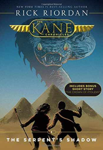 9781368013574-1368013570-The Kane Chronicles, Book Three The Serpent's Shadow (new cover)