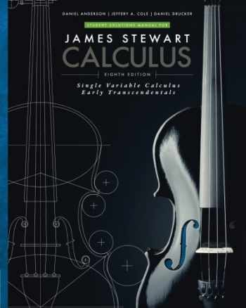 9781305272422-1305272420-Student Solutions Manual for Stewart's Single Variable Calculus: Early Transcendentals, 8th (James Stewart Calculus)