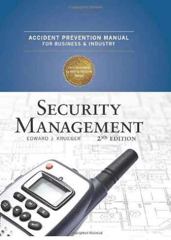 9780879122607-0879122609-Accident Prevention Manual: Security Management 2nd Edition