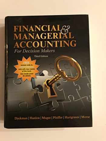 FINANCIAL & MANAGERIAL ACCOUNTING FOR DECISION MAK 3