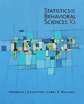 9781305504912-1305504917-Statistics for the Behavioral Sciences - Standalone Book