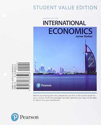 9780134636528-013463652X-International Economics, Student Value Edition (7th Edition)