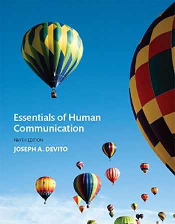 9780134184951-0134184955-Essentials of Human Communication (9th Edition)
