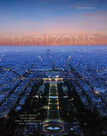 9781337568265-1337568260-Horizons, Student Edition: Introductory French
