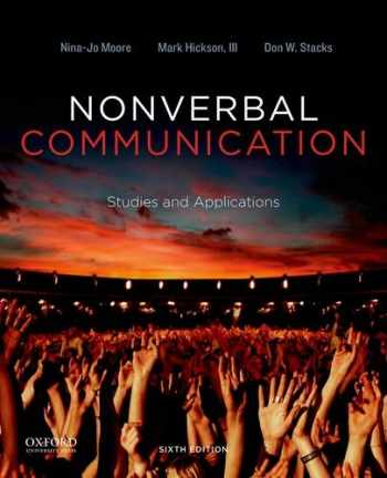 9780199990252-0199990255-Nonverbal Communication: Studies and Applications