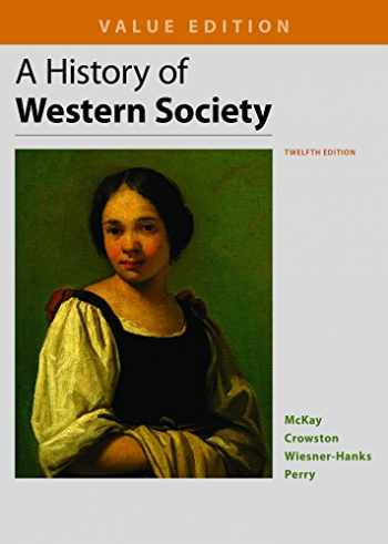 9781319031046-1319031048-A History of Western Society, Value Edition, Combined