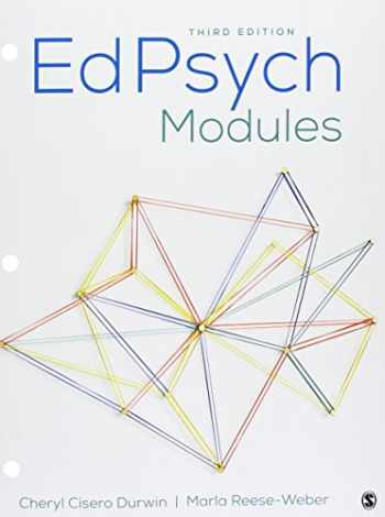 9781506379470-1506379478-BUNDLE: Durwin: EdPsych Modules 3e (Loose Leaf) + Durwin: EdPsych Modules Interactive eBook 3e