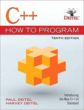 9780134583006-0134583000-C++ How to Program Plus MyLab Programming with Pearson eText -- Access Card Package (10th Edition)