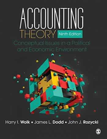 9781483375021-1483375021-Accounting Theory: Conceptual Issues in a Political and Economic Environment