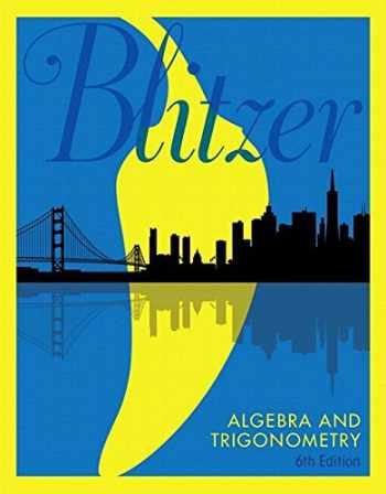 9780134464459-0134464451-Algebra and Trigonometry, Books a la Carte Edition (6th Edition)