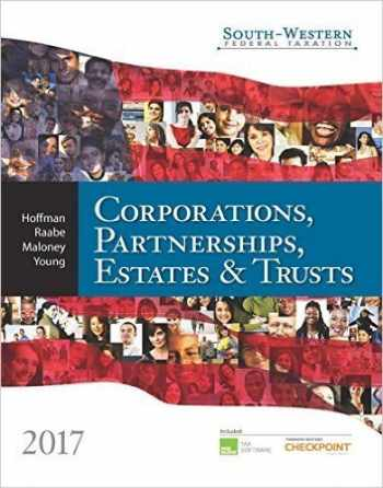 9781305874336-1305874331-2017 Corporations, Partnerships, Estates and Trusts