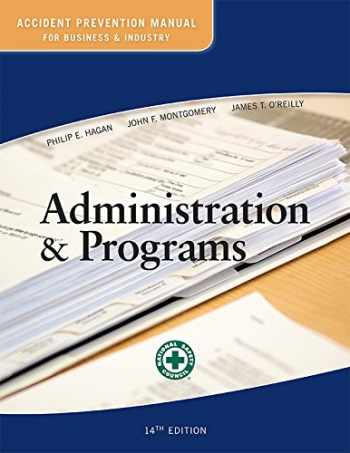 9780879123215-0879123214-Accident Prevention Manual for Business and Industry: Administration & Programs 14ed