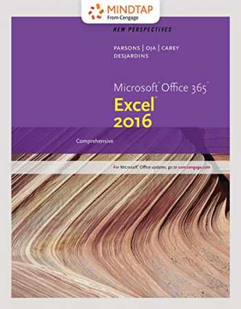 9781337213073-1337213071-Bundle: New Perspectives Microsoft Office 365 & Excel 2016: Comprehensive, Loose-leaf Version + MindTap Computing, 1 term (6 months) Printed Access Card