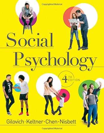 9780393938968-0393938964-Social Psychology (Fourth Edition)