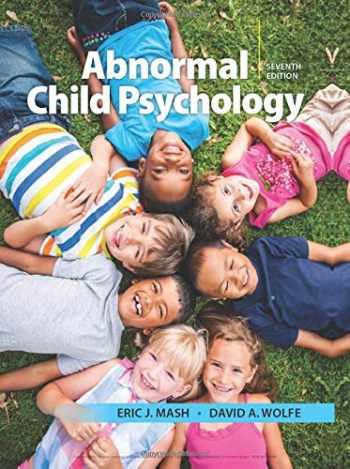 9781337624268-1337624268-Abnormal Child Psychology