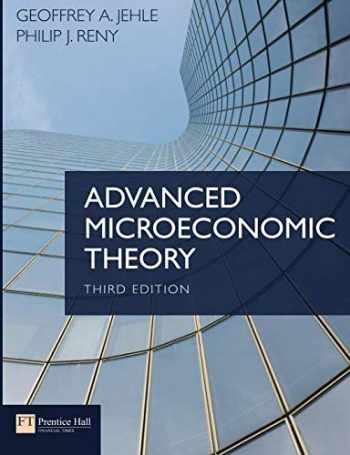 9780273731917-0273731912-Advanced Microeconomic Theory (3rd Edition)