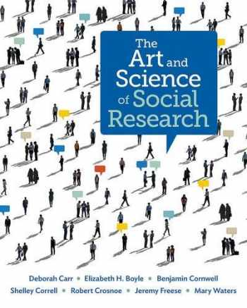9780393911589-0393911586-The Art and Science of Social Research (First Edition)