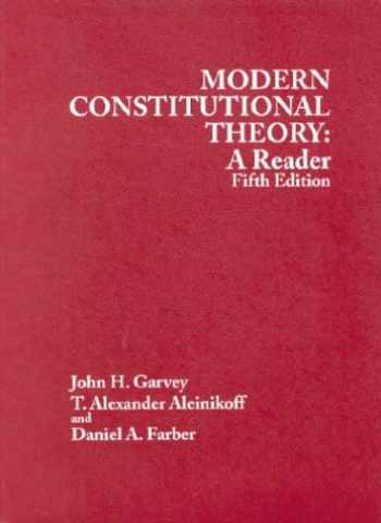9780314149053-0314149058-Modern Constitutional Theory: A Reader 5th Edition