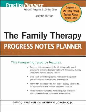 9780470448847-0470448849-The Family Therapy Progress Notes Planner