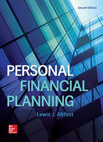 9781259277184-1259277186-Personal Financial Planning (Mcgraw-hill / Irwin Series in Finace, Insurance, and Real Estate)