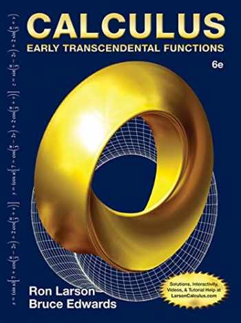 9781285774770-1285774779-Calculus: Early Transcendental Functions