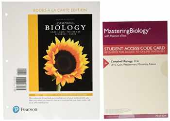 9780134454665-0134454669-Campbell Biology, Books a la Carte Plus Mastering Biology with Pearson eText -- Access Card Package (11th Edition)