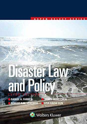 9781454869252-1454869259-Disaster Law and Policy (Aspen Select Series)