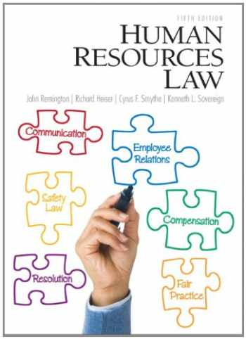 9780132568890-0132568896-Human Resources Law (5th Edition)