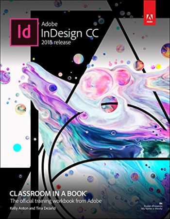 9780134852508-0134852508-Adobe InDesign CC Classroom in a Book (2018 release)