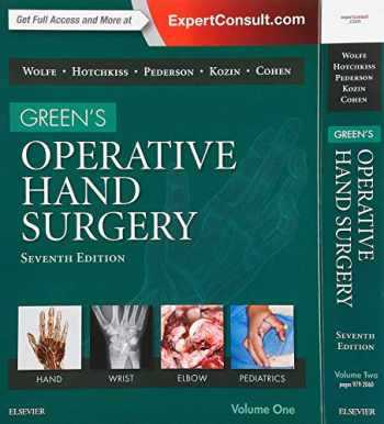 Green's Operative Hand Surgery, 2-Volume Set, 7e
