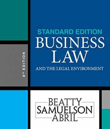 9781337404532-1337404535-Business Law and the Legal Environment, Standard Edition