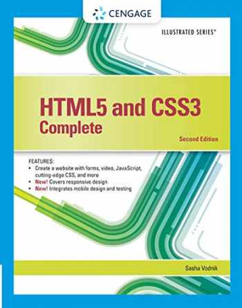 9781305394049-1305394046-HTML5 and CSS3, Illustrated Complete