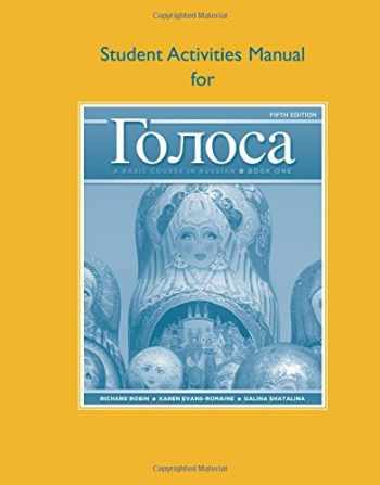 9780205748761-0205748767-Student Activities Manual for Golosa: A Basic Course in Russian, Book One