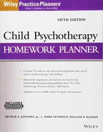 9781119193067-1119193060-Child Psychotherapy Homework Planner (PracticePlanners)