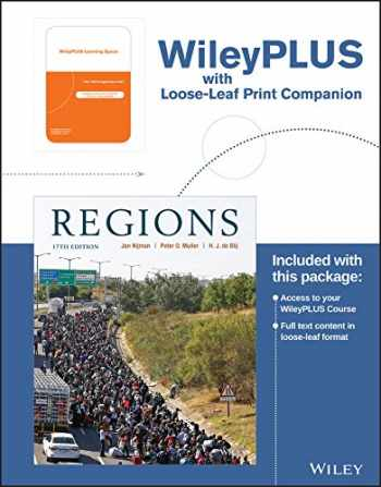 9781119343219-1119343216-Geography: Realms, Regions, and Concepts, 17th Edition WileyPLUS Learning Space Registration Card + Loose-leaf Print Companion