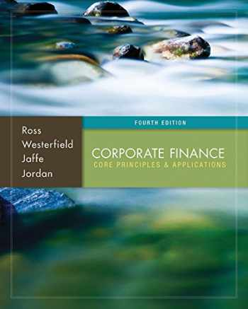 9781259216770-1259216772-Corporate Finance: Core Principles and Applications with Connect Access Card