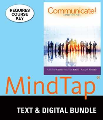 9781337062060-1337062065-Bundle: Communicate! Loose-leaf version, 15th + LMS Integrated for MindTap Speech, 1 term (6 months) Printed Access Card