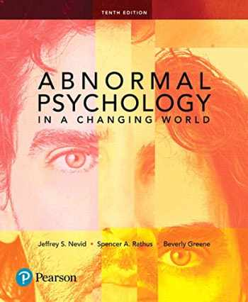 9780134484921-0134484924-Abnormal Psychology in a Changing World