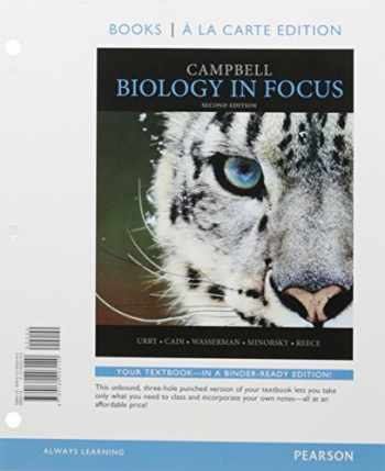 9780134433769-0134433769-Campbell Biology in Focus, Books a la Carte Edition; Modified Mastering Biology with Pearson eText -- ValuePack Access Card -- for Campbell Biology in Focus (2nd Edition)