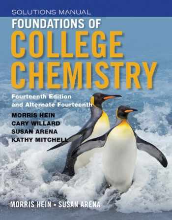 9781118289013-1118289013-Foundations of College Chemistry, Student Solutions Manual