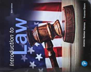 9780134868240-0134868242-Introduction to Law (6th Edition)