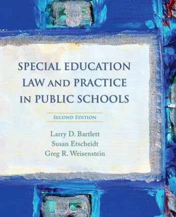 9780132207140-0132207141-Special Education Law and Practice in Public Schools (2nd Edition)