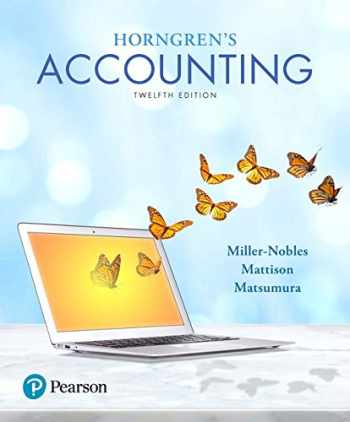 9780134486444-0134486447-Horngren's Accounting (12th Edition)
